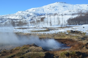 Iceland is home to 130 volcanoes and uses geothermal heat to survive