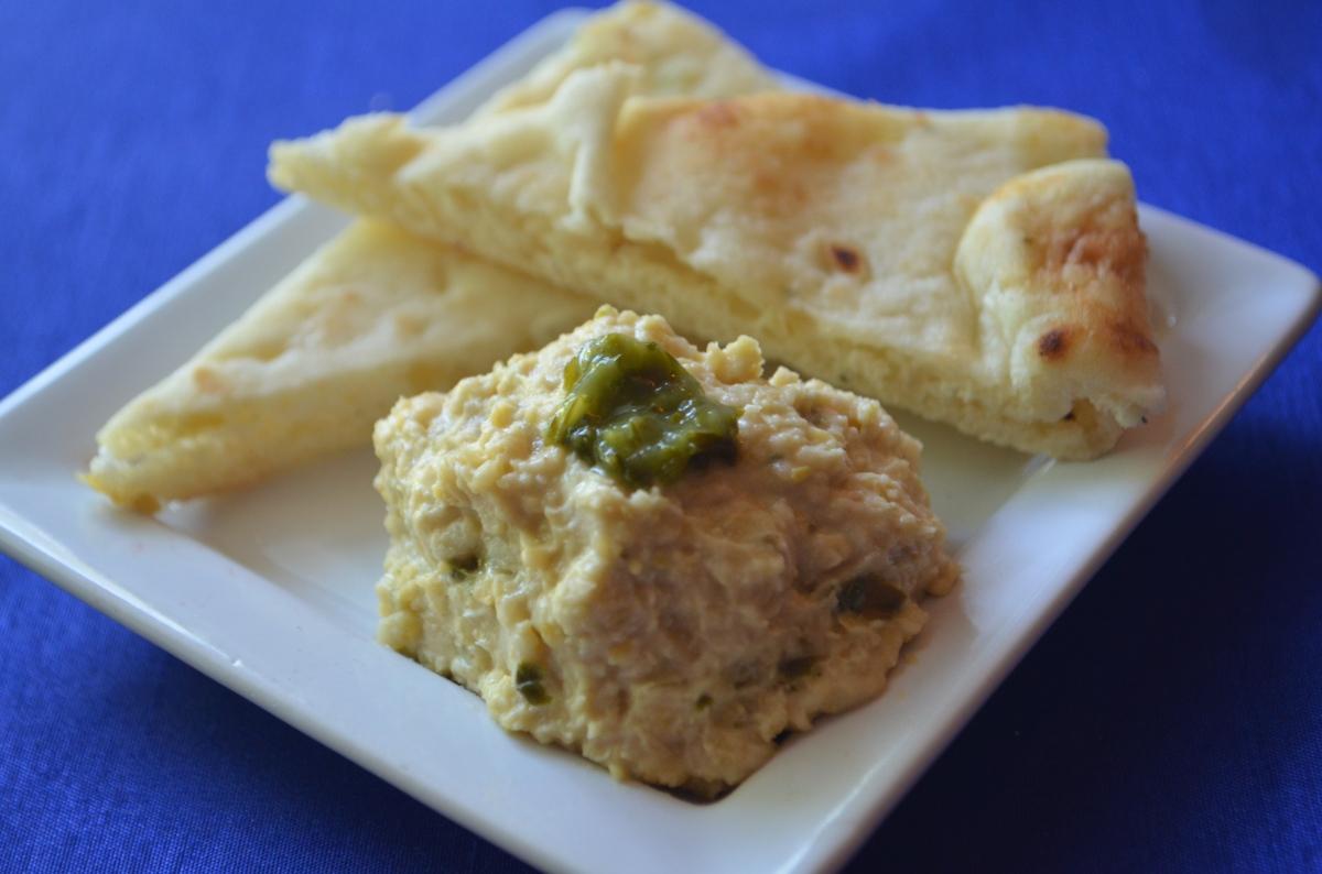 Basil Hummus | rotisseriechickenqueen