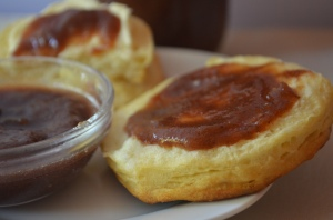 apple butter biscuit