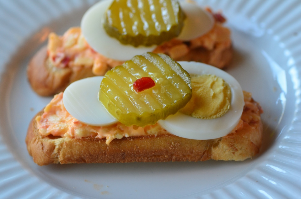pimento eggs